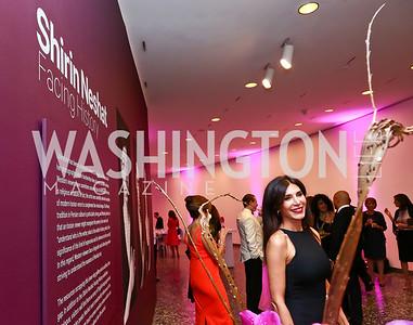 Afsaneh Tabrizian. Photo by Tony Powell. Hirshhorn Museum Facing History Gala. May 16, 2015