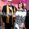 Greg Johnson, Elizabeth Crabill. Photo by Tony Powell. Hirshhorn Museum Facing History Gala. May 16, 2015