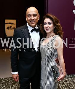 Dadi and Farinaz Akhavan. Photo by Tony Powell. Hirshhorn Museum Facing History Gala. May 16, 2015