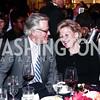 Robin West, Leslie Schweitzer. Photo by Tony Powell. 2015 ICFJ Awards Dinner. Reagan Building. November 10, 2015