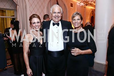 Sage Bolte, Knox Singleton, Lauren Peterson. Photo by Tony Powell. 2015 Hisaoka Gala. Omni Shoreham. September 19, 2015