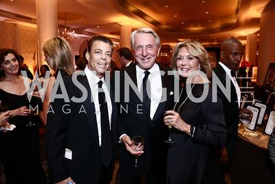 Rick Kay, Tom and Alice Blair. Photo by Tony Powell. 2015 Hisaoka Gala. Omni Shoreham. September 19, 2015