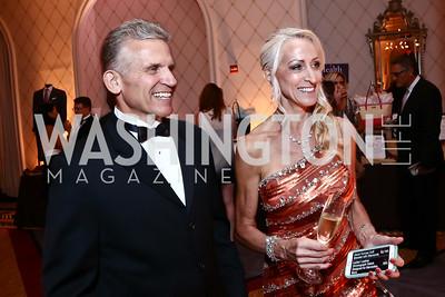 Mike and Susan Hubert. Photo by Tony Powell. 2015 Hisaoka Gala. Omni Shoreham. September 19, 2015