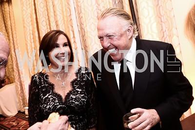 Bonnie and Dick Patterson. Photo by Tony Powell. 2015 Hisaoka Gala. Omni Shoreham. September 19, 2015