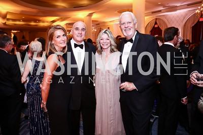 Erika Schiller, Michael Murphy, Kay Kendall and Jack Davies. Photo by Tony Powell. 2015 Hisaoka Gala. Omni Shoreham. September 19, 2015