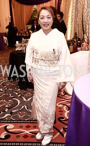 Sachiko Kuno. Photo by Tony Powell. 2015 Hisaoka Gala. Omni Shoreham. September 19, 2015