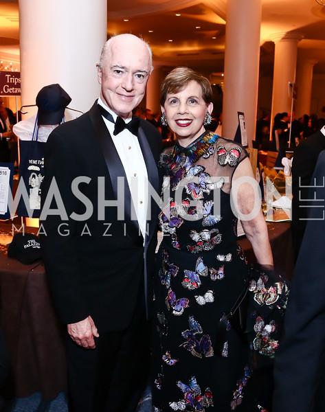 David Bradley, Adrienne Arsht. Photo by Tony Powell. 2015 Hisaoka Gala. Omni Shoreham. September 19, 2015