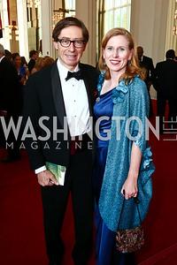 Germany Amb. Peter Wittig and Huberta Wittig. Photo by Tony Powell. 2015 Kennedy Center Spring Gala. May 3, 2015