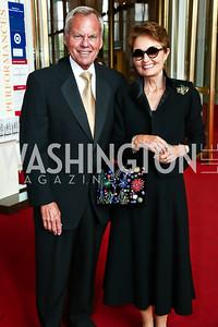 John and Antonia Gore. Photo by Tony Powell. 2015 Kennedy Center Spring Gala. May 3, 2015