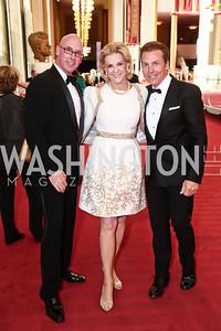 Todd Lenahan, Elaine Wynn, John Gorsuch. Photo by Tony Powell. 2015 Kennedy Center Spring Gala. May 3, 2015