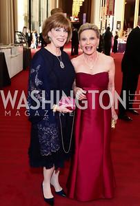 Patricia Sagon, Vibeke Lofft. Photo by Tony Powell. 2015 Kennedy Center Spring Gala. May 3, 2015
