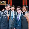 Chris Scribner, Lyndon Boozer, David Jones, Tonya Williams. Photo by Tony Powell. 2015 LBJ Liberty and Justice for All Award Gala. Mellon Auditorium. November 18, 2015
