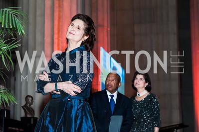 Lynda Johnson Robb. Photo by Tony Powell. 2015 LBJ Awards Dinner. Mellon Auditorium. November 18, 2015