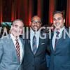John Hoel, Yelberton Watkins, Jed Bhuta. Photo by Tony Powell. 2015 LBJ Liberty and Justice for All Award Gala. Mellon Auditorium. November 18, 2015