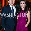Robert Kang and Eun Yang. Photo by Tony Powell. 2015 Lab School Gala. Building Museum. November 12, 2015