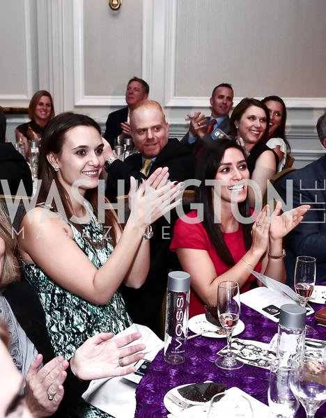 Amanda Blunt, Lindsay Avedesian. Photo by Tony Powell. 2015 March of Dimes Signature Chefs Gala. Ritz Carlton. November 17, 2015