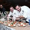 Lupo Verde's Max Mackintosh and Chef Domenico Apolloaro. Photo by Tony Powell. 2015 March of Dimes Signature Chefs Gala. Ritz Carlton. November 17, 2015