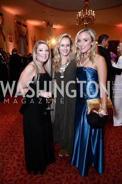 Kelly Standiford, Katherine Bouweiri, Heather Louise Finch. Photo by Tony Powell. Mentor Foundation USA International Gala. Mayflower Hotel. September 22, 2015
