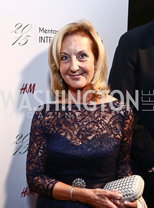 Yvonne Thunell. Photo by Tony Powell. Mentor Foundation USA International Gala. Mayflower Hotel. September 22, 2015