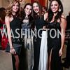 Erika Gutierrez, Jaclyn Mason, Karina Gutierrez, Suad Nsouli. Photo by Tony Powell. 2015 Meridian Ball. October 16, 2015
