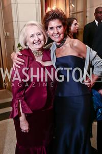 Melanne Verveer, Capricia Marshall. Photo by Tony Powell. 2015 Meridian Ball. October 16, 2015
