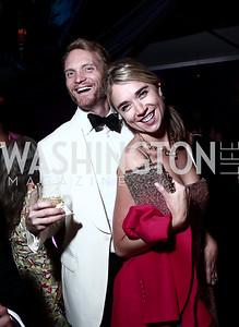 Geoff Orazem, Whitney Austin Gray. Photo by Tony Powell. 2015 Meridian Ball. October 16, 2015