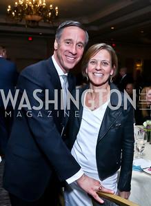 Arne and Ruth Sorenson. Photo by Tony Powell. 2015 N Street Village Gala. Ritz Carlton. March 24, 2015