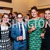 Denise Desiberio, Teak Wilson, Lauren Wilson, Chelsea Wilson. Photo by Tony Powell. 2015 NOFAS Gala. Embassy of France. September 17, 2015