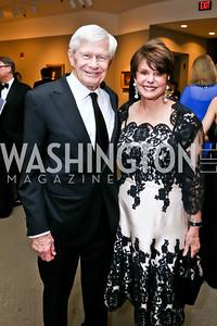 Fred and Marlene Malek. Photo by Tony Powell. 2015 NMWA Gala. April 10, 2015