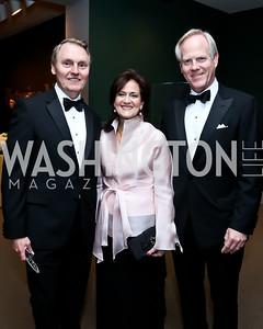 Albert Baker Knowles, Anita and Tim McBride. Photo by Tony Powell. 2015 NMWA Gala. April 10, 2015
