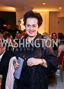 Liechtenstein Amb. Claudia Fritsche. Photo by Tony Powell. 2015 NMWA Gala. April 10, 2015