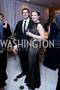Alex and Allie Donovan. Photo by Tony Powell. 2015 NMWA Gala. April 10, 2015