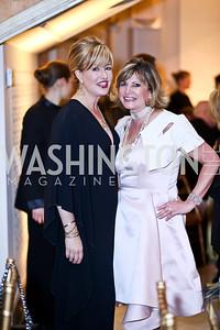 Jacqui Michel, Tina Alster. Photo by Tony Powell. 2015 NMWA Gala. April 10, 2015