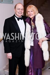 Bill Detty, Lola Reinsch. Photo by Tony Powell. 2015 NMWA Gala. April 10, 2015