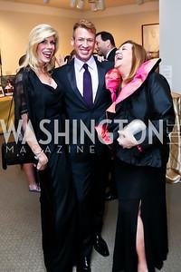 Barbara Guterman, Anthony Camargo, Robin Hammer. Photo by Tony Powell. 2015 NMWA Gala. April 10, 2015