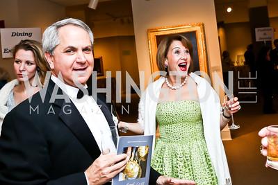 Mark and Nancy Duber. Photo by Tony Powell. 2015 NMWA Gala. April 10, 2015