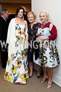 Lucy Buchanan, Alice West, Marsha Shiff. Photo by Tony Powell. 2015 NMWA Gala. April 10, 2015