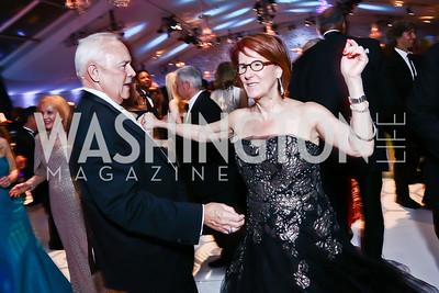 Bob and Suzy Pence. Photo by Tony Powell. 2015 NSO Season Opening Ball. September 20, 2015