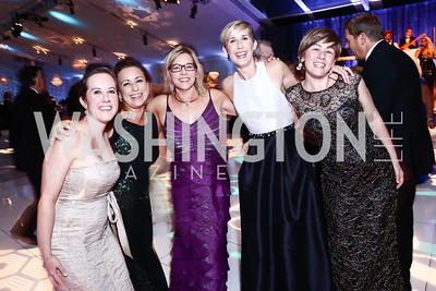 Amy Drew, Chandra Cervantes, Teri Lee, Joy Branagan, Anne Donaldson. Photo by Tony Powell. 2015 NSO Season Opening Ball. September 20, 2015