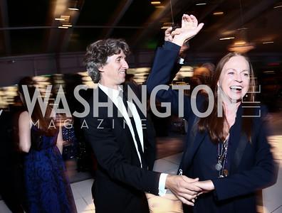 Damian Woetzel and Heather Watts. Photo by Tony Powell. 2015 NSO Season Opening Ball. September 20, 2015