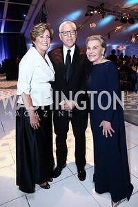 Deborah Rutter, David Rubenstein, Jeanne Ruesch. Photo by Tony Powell. 2015 NSO Season Opening Ball. September 20, 2015