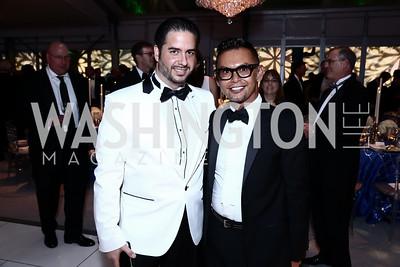 Amin Salam, Erwin Gomez. Photo by Tony Powell. 2015 NSO Season Opening Ball. September 20, 2015