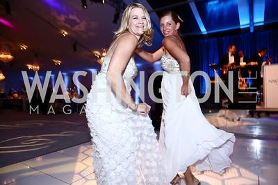 Stephanie Frauen, Colleen Stoltz. Photo by Tony Powell. 2015 NSO Season Opening Ball. September 20, 2015