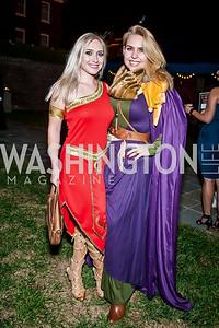 Ksenia Saini, Kristen Nelson. Photo by Tony Powell. 2015 Night Nouveau. Halcyon House. October 10, 2015