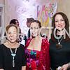 Leda Nigoya, Pilar O'Leary, Alexandra Nigoya. Photo by Tony Powell. 2015 Noche de Pasion. Residence of Panama. November 14, 2015