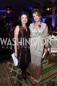 Patti Solis Doyle, Latinovations Founder Maria Cardona. Photo by Tony Powell. 2015 Noche de Gala. October 6, 2015