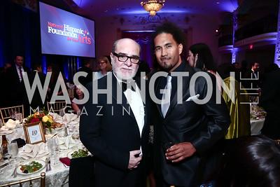 Marcos Zurinaga, Dallas King. Photo by Tony Powell. 2015 Noche de Gala. October 6, 2015
