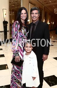 Elvimar, Mariana, and Esai Morales. Photo by Tony Powell. 2015 Noche de Gala. October 6, 2015