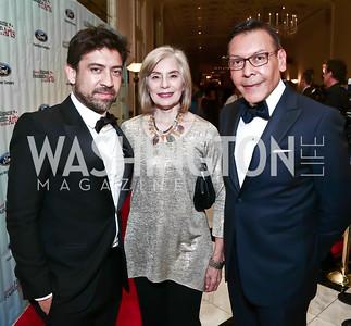 Alfonso Gomez-Rejon, Merel Julia, Felix Sanchez. Photo by Tony Powell. 2015 Noche de Gala. October 6, 2015