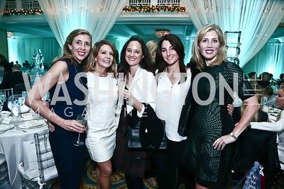 Susan Tanis, Catherine Zimmermann, Kristen Best, Amy Katz, Lesley McNamara. Photo by Tony Powell. 2015 Nutcracker Tea. Willard Hotel. December 13, 2015